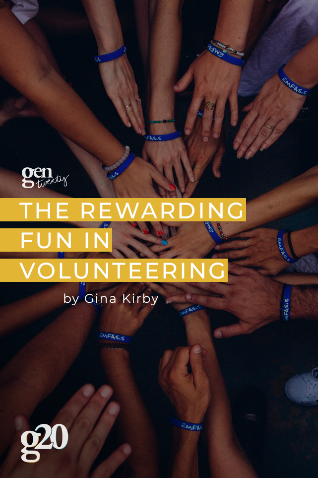 the rewarding fun in volunteering