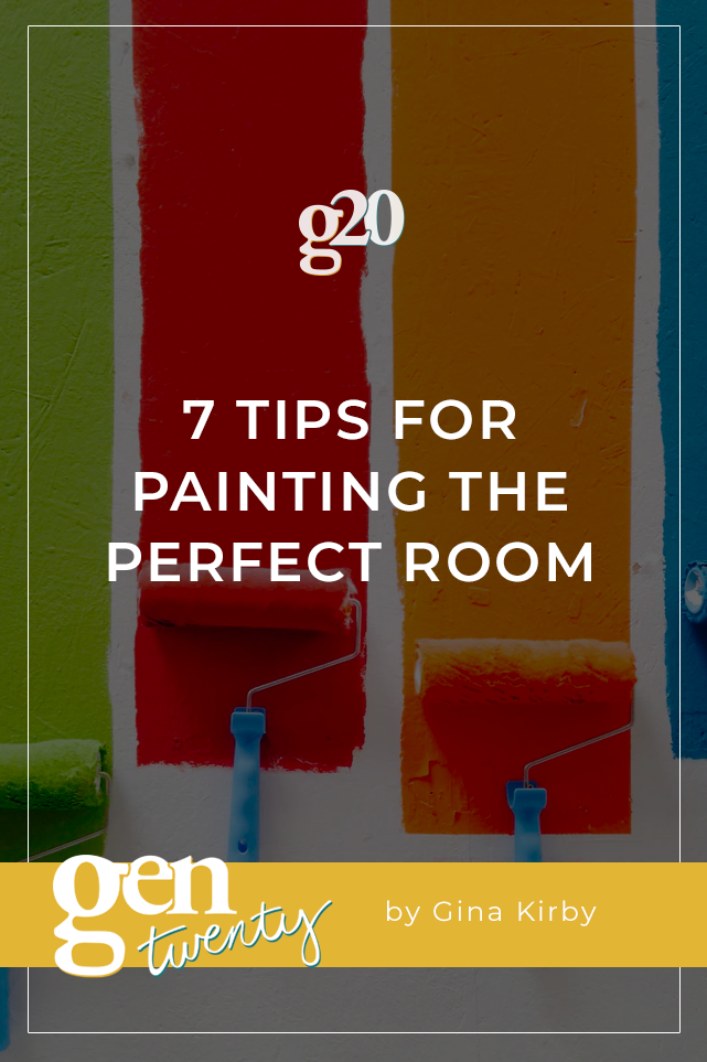 7 Tips for Painting the Perfect Room