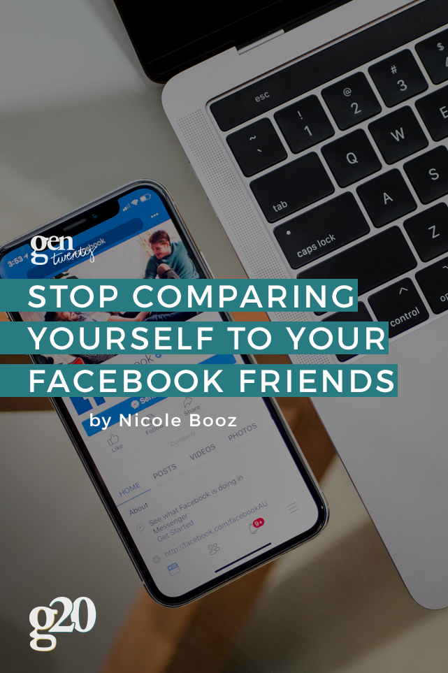 How To Stop Comparing Yourself to Your Facebook Friends