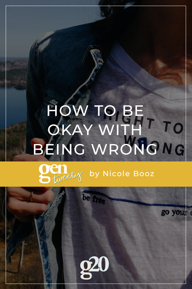 What's Right With Being Wrong