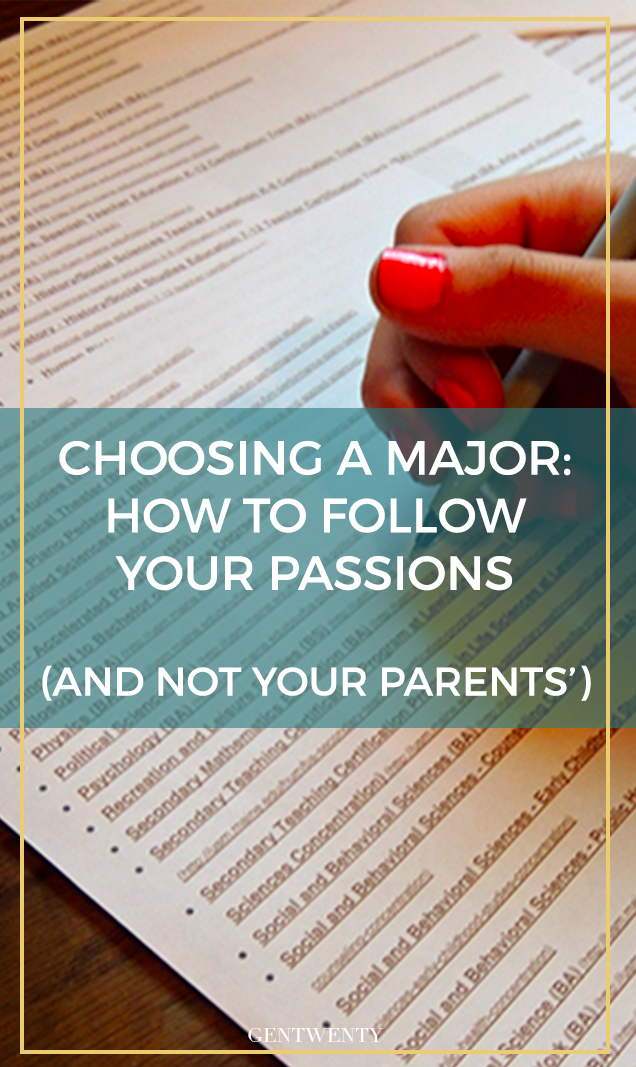 """When you love PR but your parents are saying """"med school or bust, """" it feels like you're caught in the middle. Here are a few tactics to help your parents see the passions the fuel you -- and just where those passions will take you in college."""