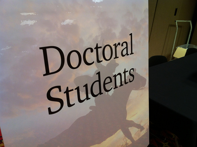 doctoral student in