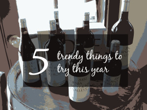 Five trends to try this year