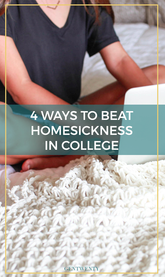 What do you do when you find yourself reaching for the familiar comforts of home while you're away at school? Here are 4 ways to cope.