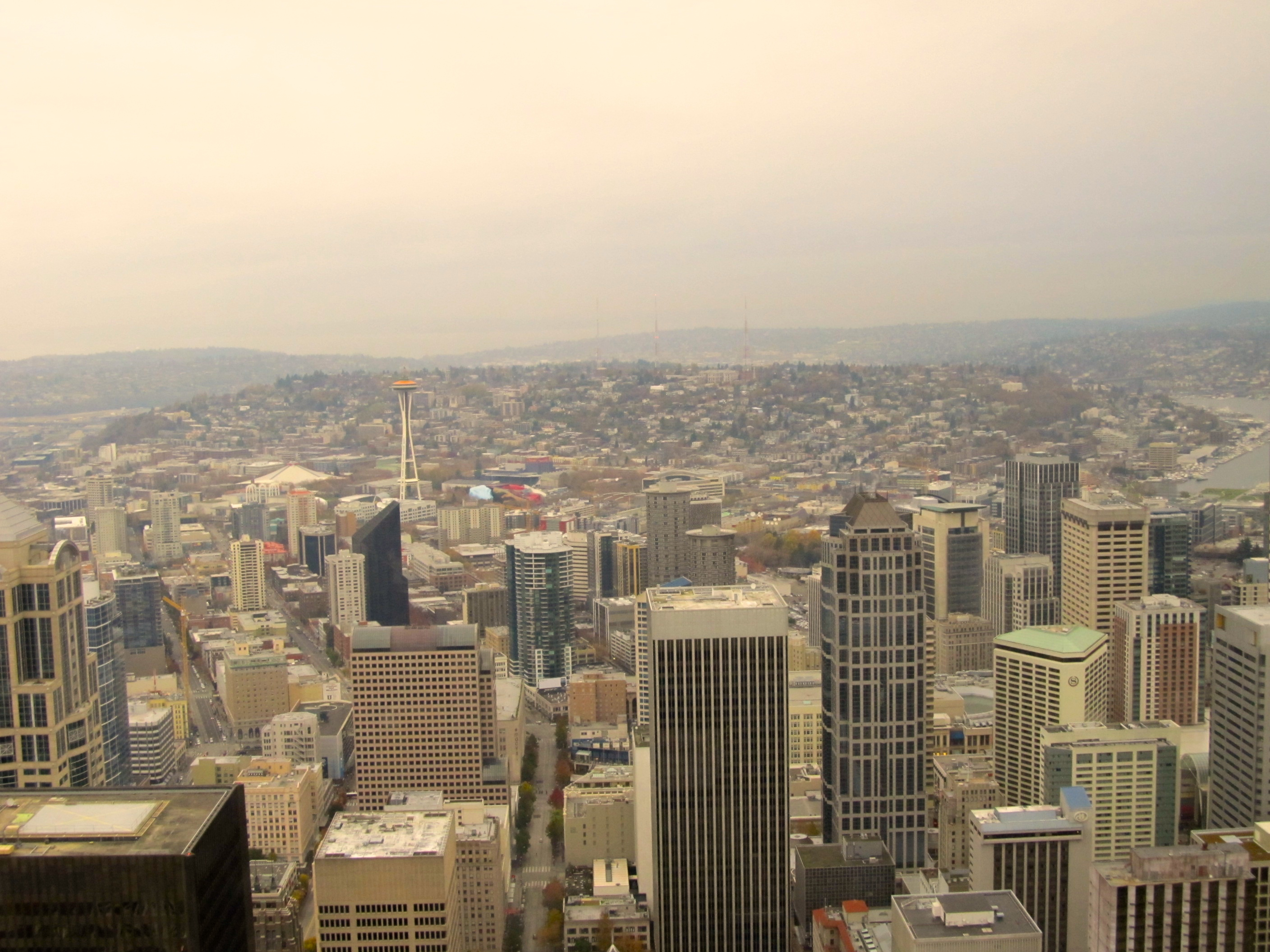 Columbia Tower Viewing Deck
