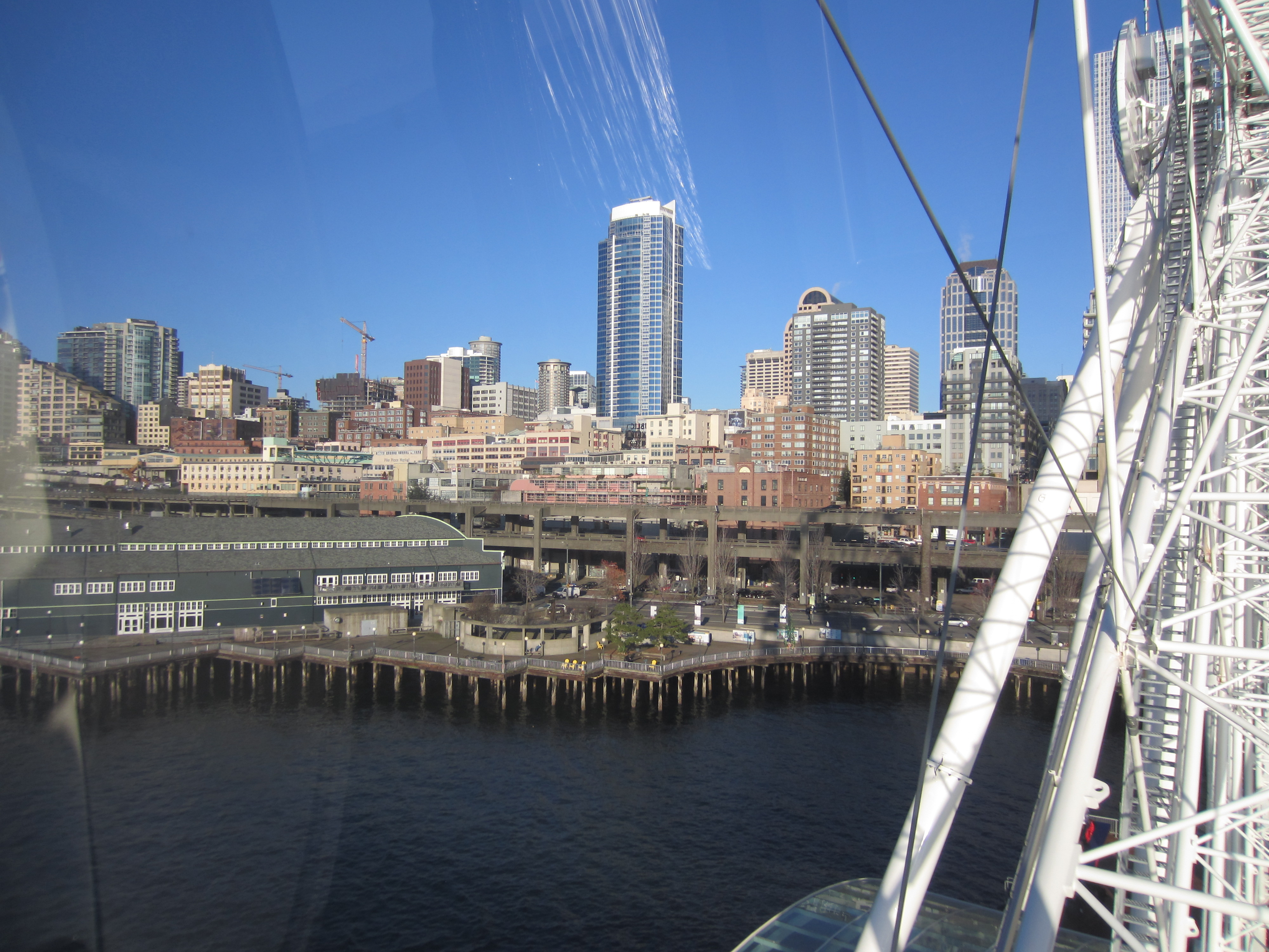 View of Downtown Seattle from the Great Wheel