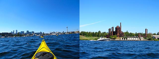 Kayaking on Lake Union: Downtown / Gas Works Park