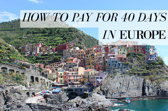 Funding a european vacation2