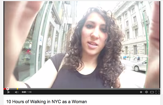 Walking in NYC as a Woman