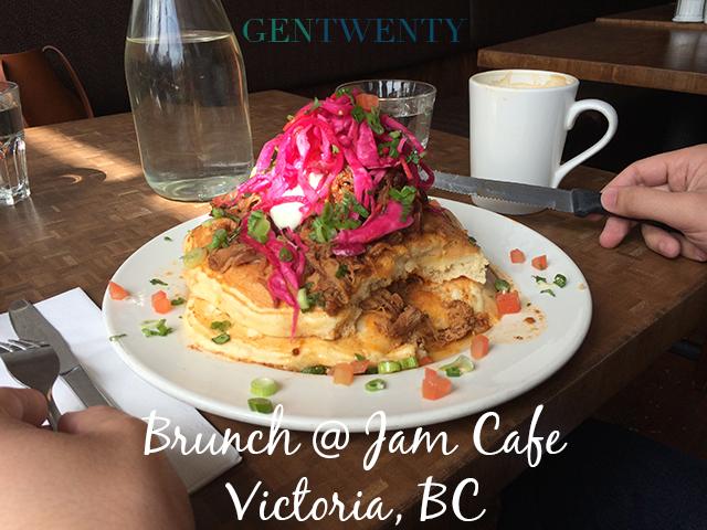 Brunch at Jam Cafe - Victoria BC