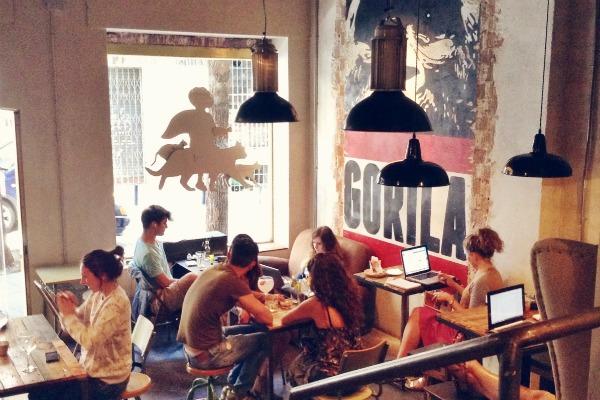 Gorila Cafe in Malasaña is a neighbourhood favourite.