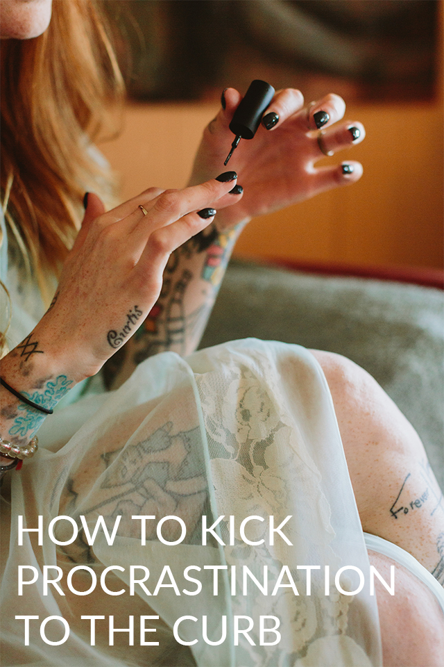 How to Kick Your Procrastination Habit Once and For All