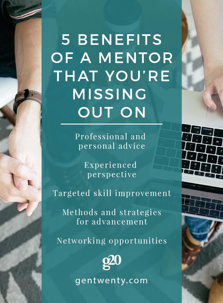 5 Benefits of a Mentor