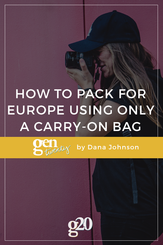 "How to pack using only carry-on bags There's no real ""secret"" involved, but there are a series of strategies. Over the years, I have been asked uzbarsa7.ga to create a how-to packing video that I finally hired a videographer and did just that."