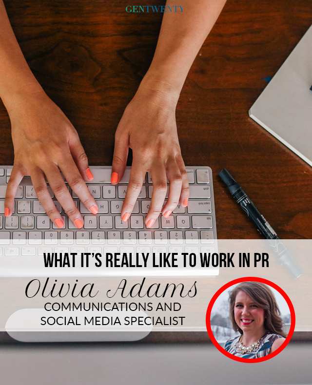 What It's Really Like to Work in PR with Olivia Adams