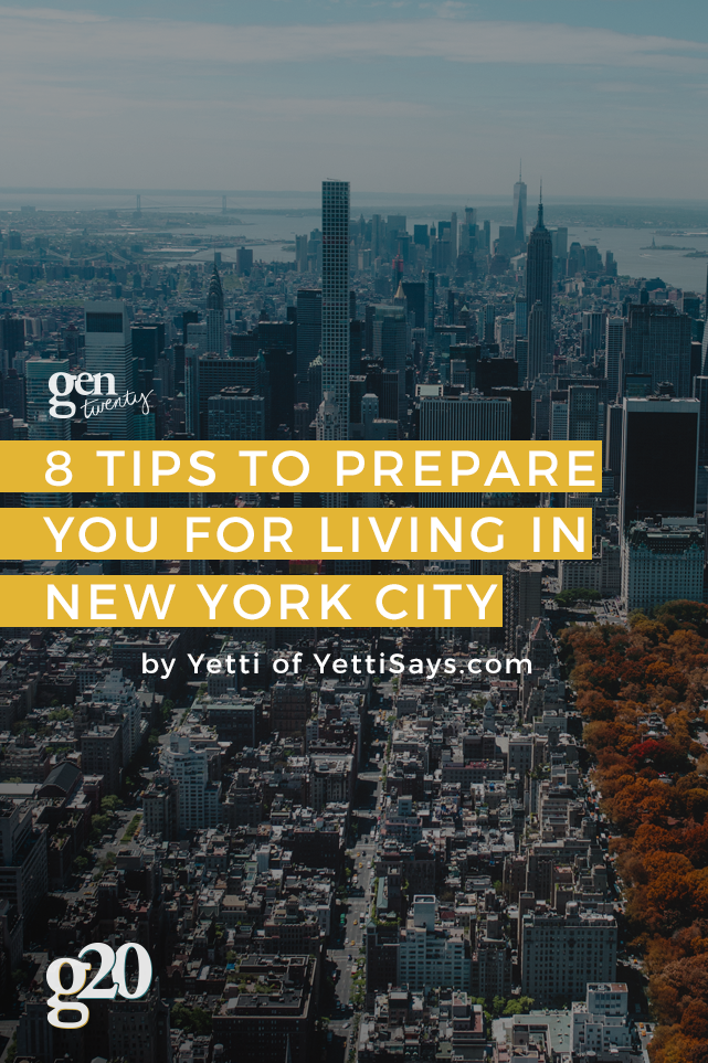 8 Tips to Prepare You For Living in New York City