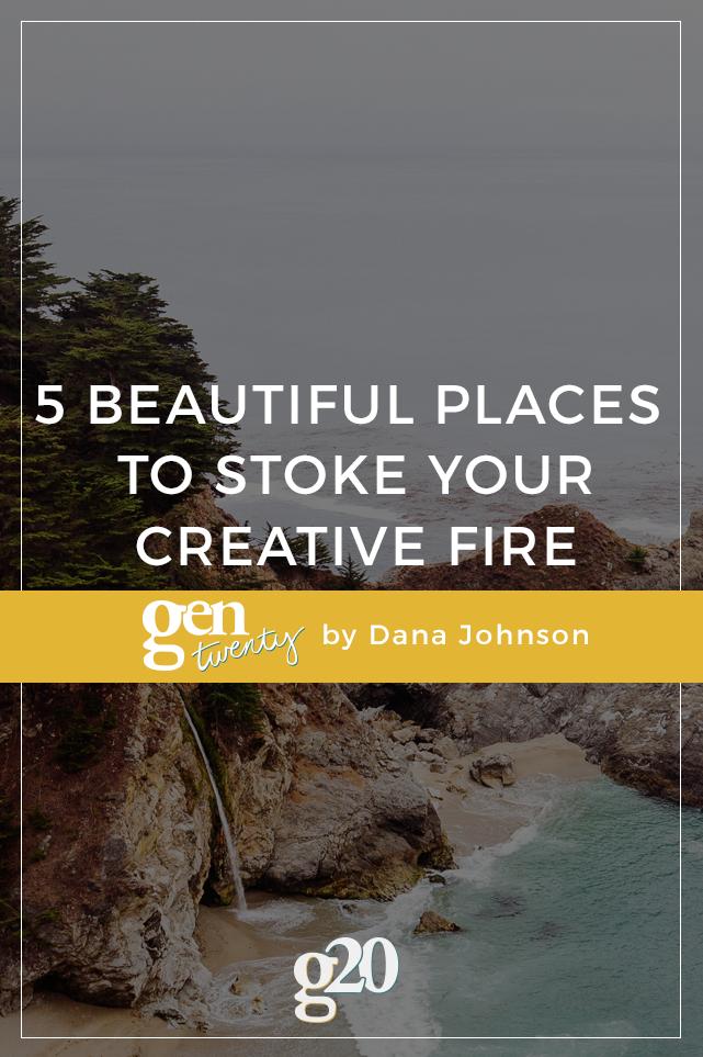 5 Unique Travel Destinations to Stoke the Creative Fire