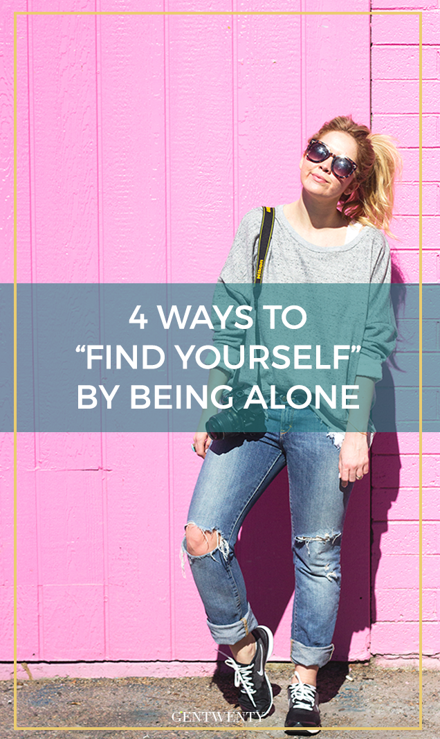 Being by yourself is a great way to grow as a person, reflect on current events in your life, and develop a strong sense of self. It seems terrifying, but here are a few ways you can ease into spending time alone.