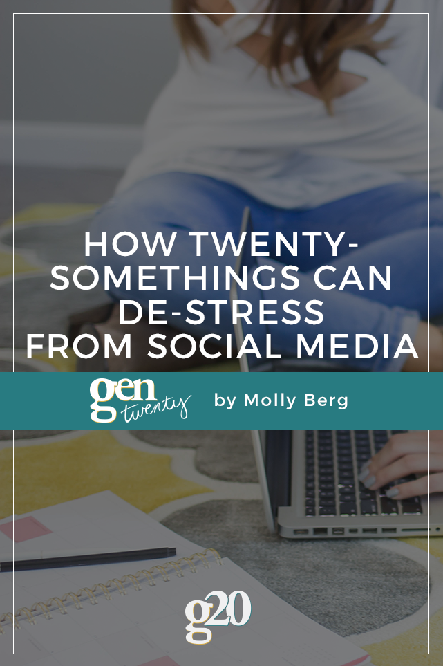 How You Can De-Stress from Social Media