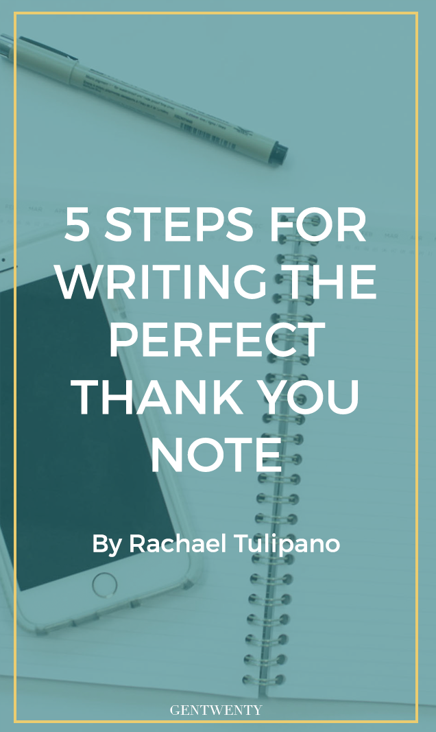 Did you know applicants who write a thank you note after an interview almost always jump to the top of the pile? Click through for 5 steps on writing the perfect thank you note to improve your chances of landing the job.