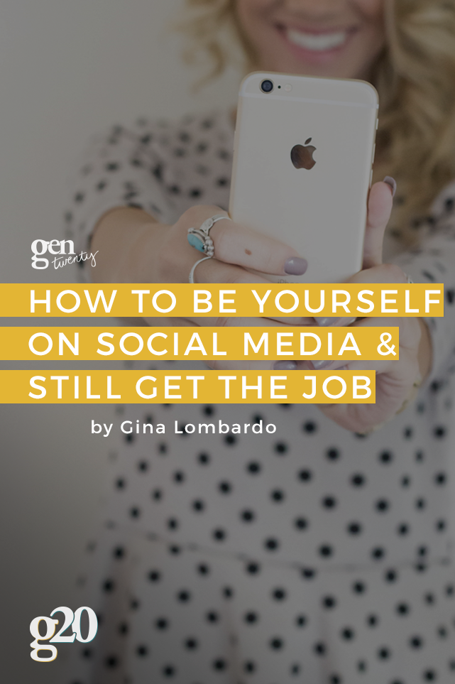 How You Can Be Yourself on Social Media (And Still Have a Job)
