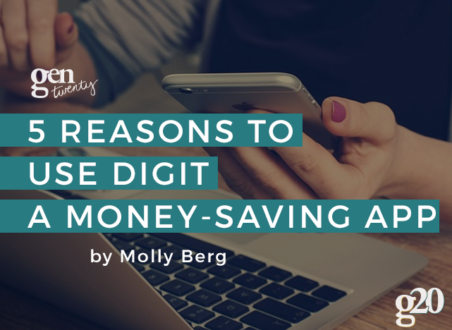Tired of losing track of your finances... yet again? Digit could be the app for you! Here are 5 unique features of the app that we love.