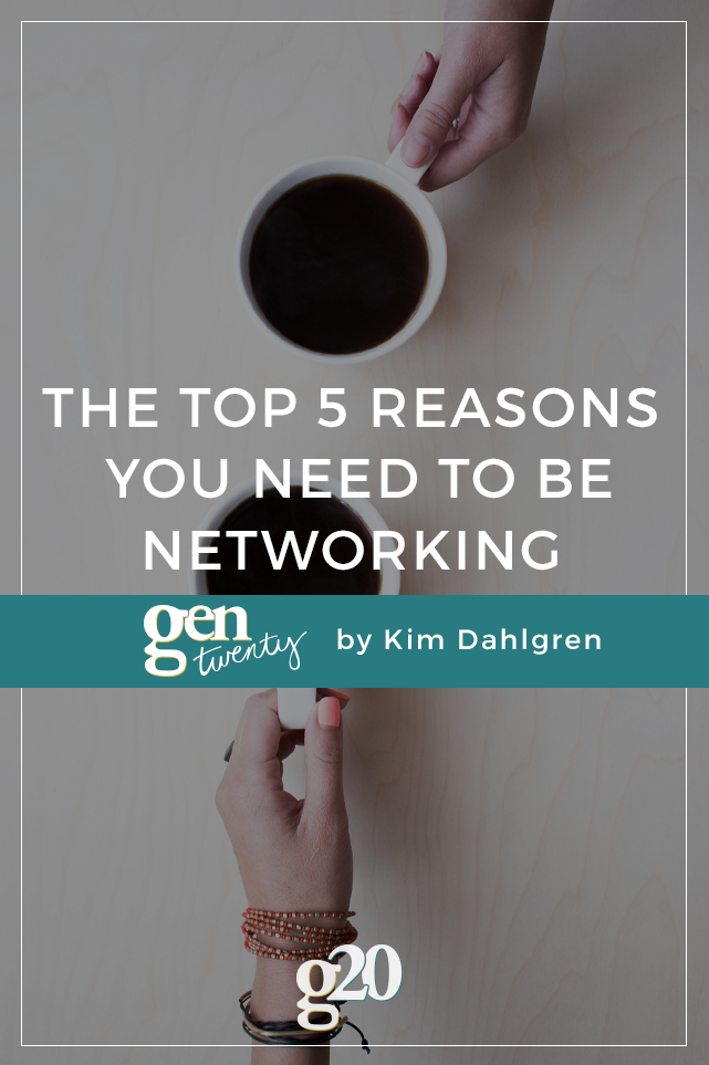 Top 5 Reasons You Need to be Networking