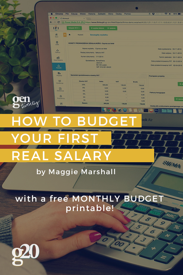 Budgeting may not be the most thrilling thing in the world, but it has to be done. Use our Monthly Budget to track your income, expenses, and savings every month! Click through to download.