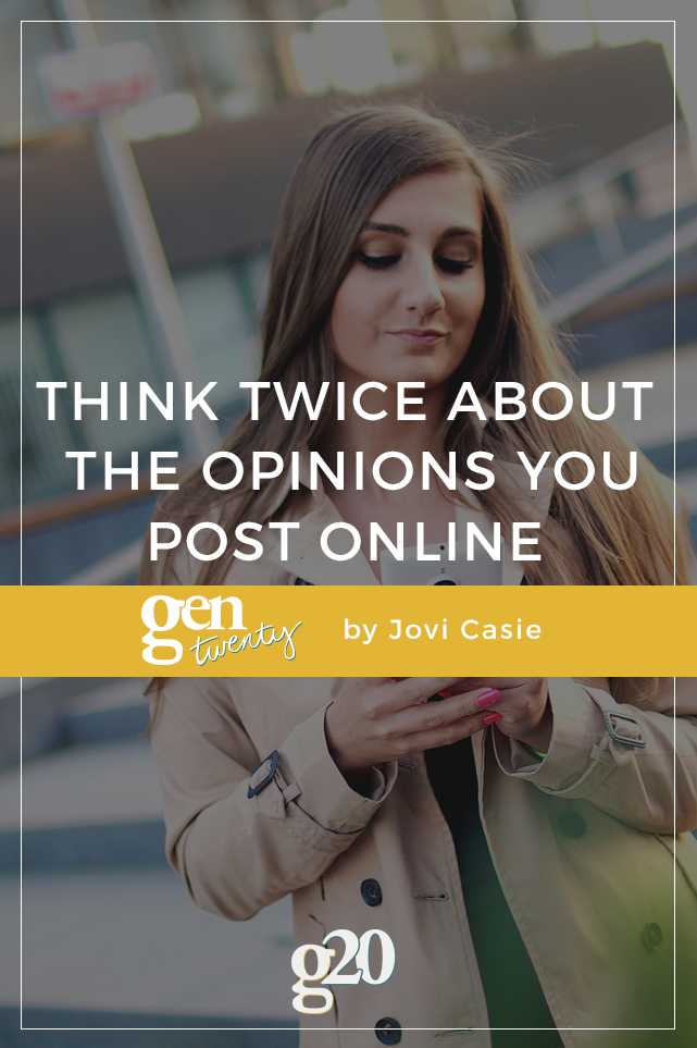 Some people just can't control themselves, they constantly overshare online. Read on for the #1 reason you shouldn't post whatever you want online.