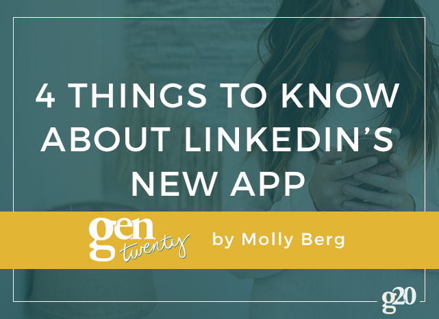 What To Know About LinkedIn's New App