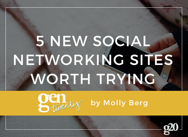 5 New Social Networking Sites Worth Trying