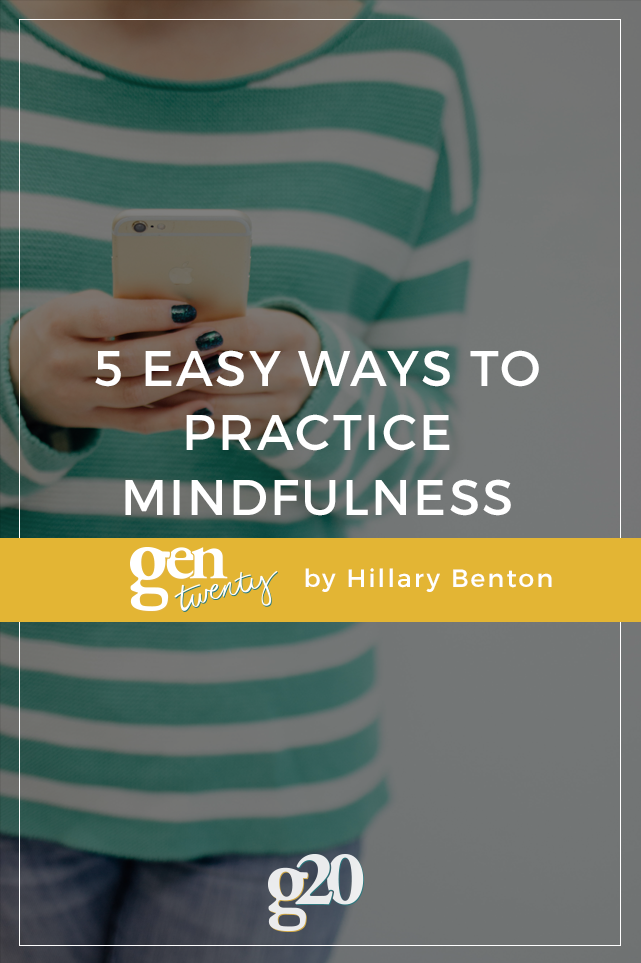 5 Easy Ways to Practice Mindfulness at Work
