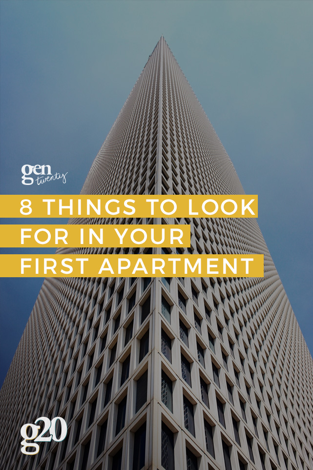 8 Things to Look for As You Search For Your First Apartment