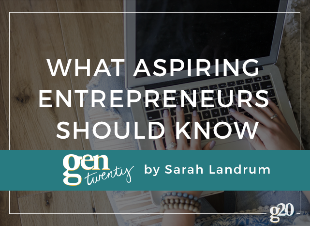 Considering starting your own company? Read this first.