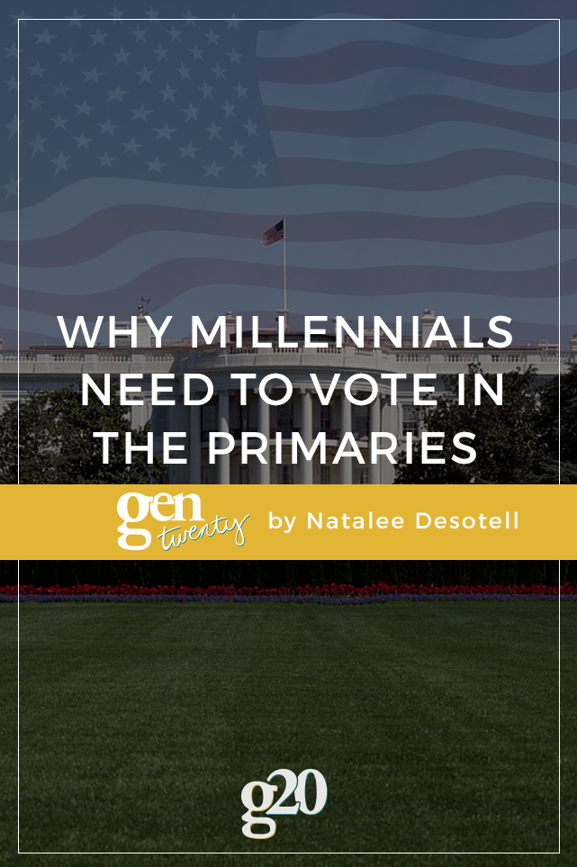 Why Millennials Need To Vote in the Primaries