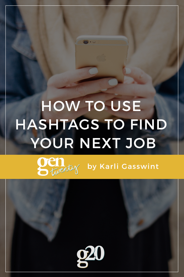 How to Use Hashtags to Find Your Next Job