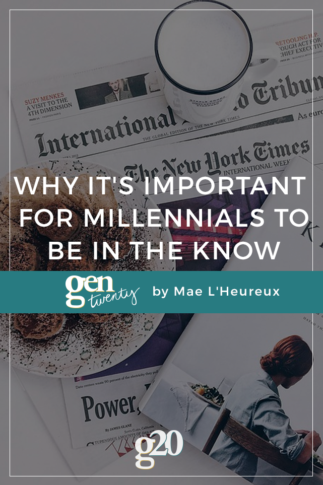 Why It's Important For Millennials To Be In The Know