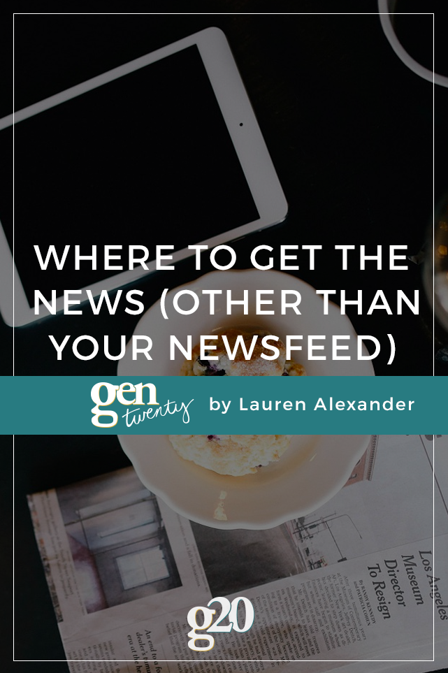 How To Make Sure Your News Isn't Just From Your Newsfeed