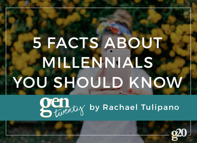 We're accused of being the worst generation yet. But what about the facts? Try sharing these facts the next time someone puts Gen Y down.