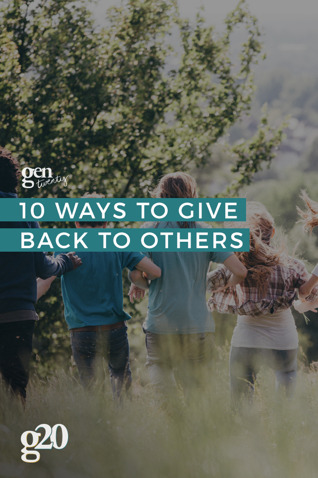 You may not realize it, but the power of helping others benefits you, too.