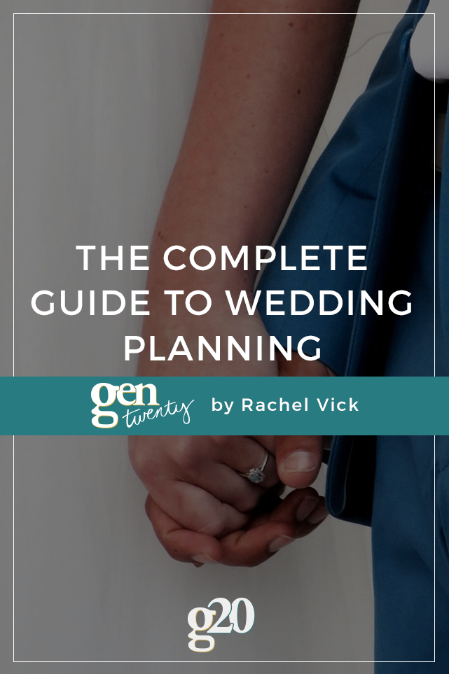 The Complete Wedding Planning Checklist (free download)