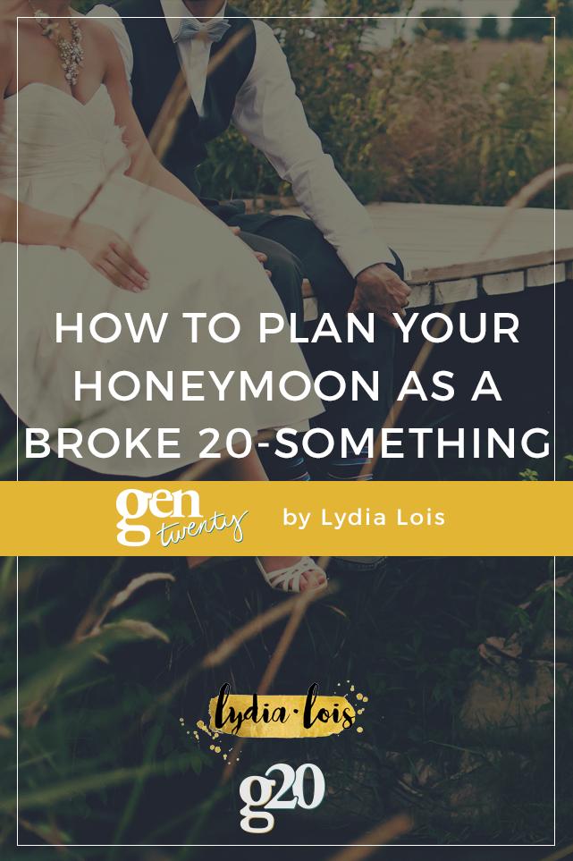 Honeymoon Planning for the Broke Twenty-Something (with 2 worksheets!)