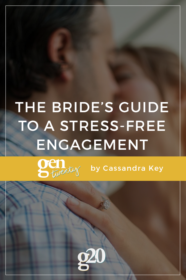Many couples are so eager to jump to the finish line after they get engaged that they forget to actually enjoy being engaged. It's an exciting time, a journey, and one that can be savored with little to no stress if you know how.
