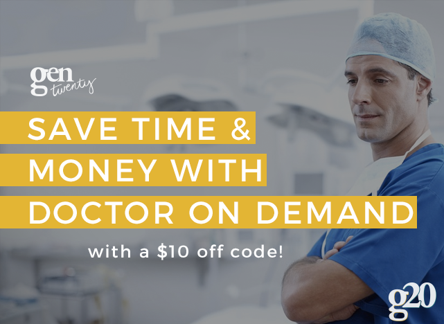 Have you put off going to the doctor's office because of the hassle? What if you could access a doctor from home? Now you can with Doctor On Demand. Learn more. #DoctorOnDemand #IC #ad