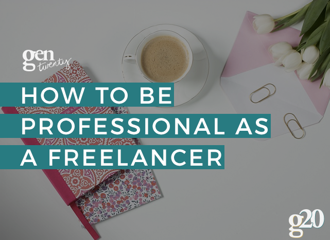 Why Professionalism Matters in Freelancing