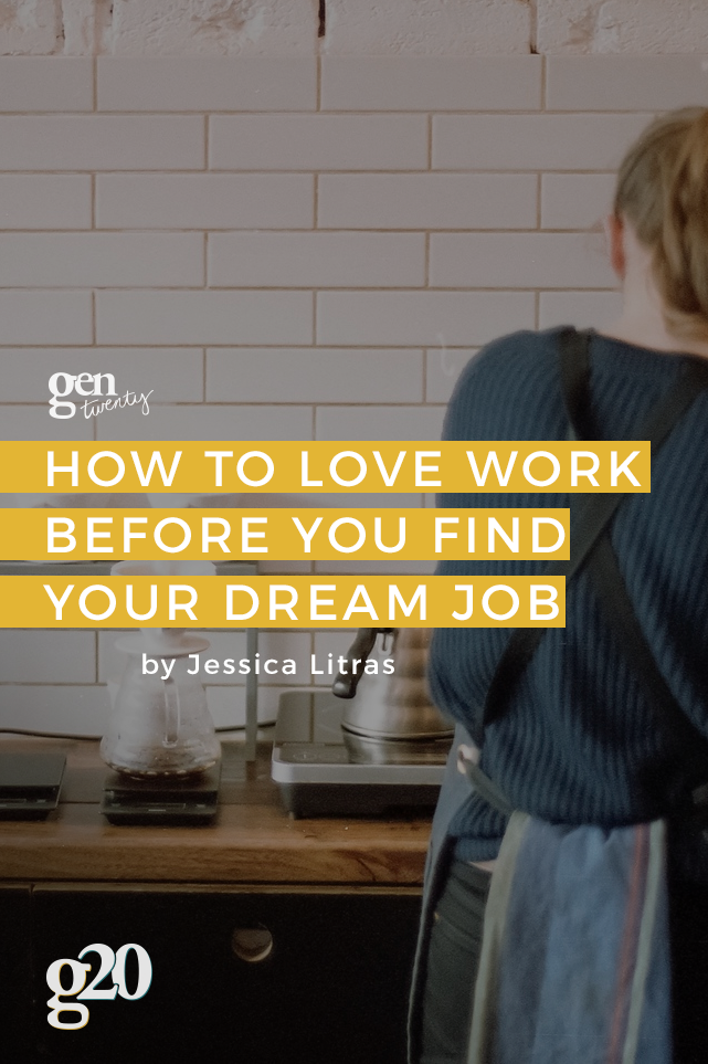 Dream jobs aren't meant to come right away. But that sure doesn't mean you can't enjoy every step of your journey. Pin for later when you need extra motivation.