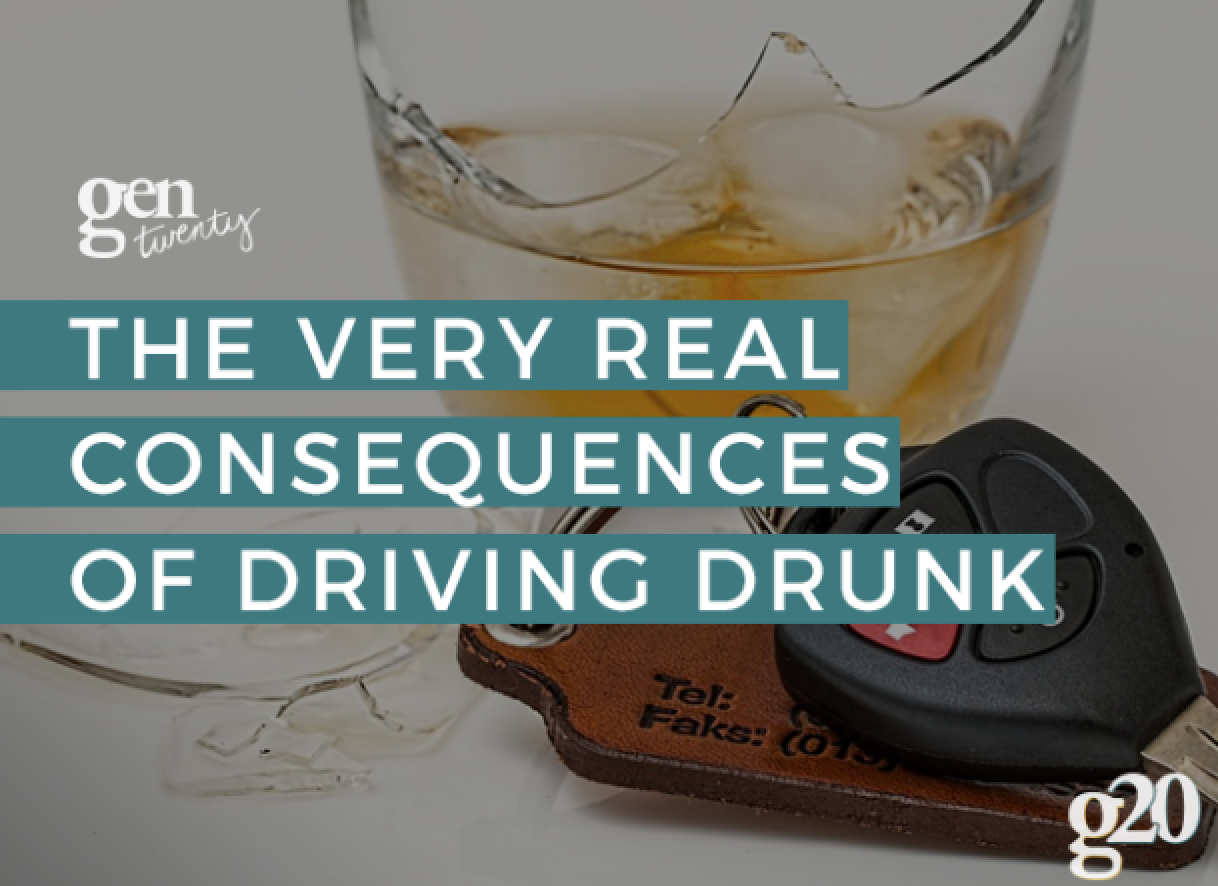 The Very Real Consequences of Driving Drunk