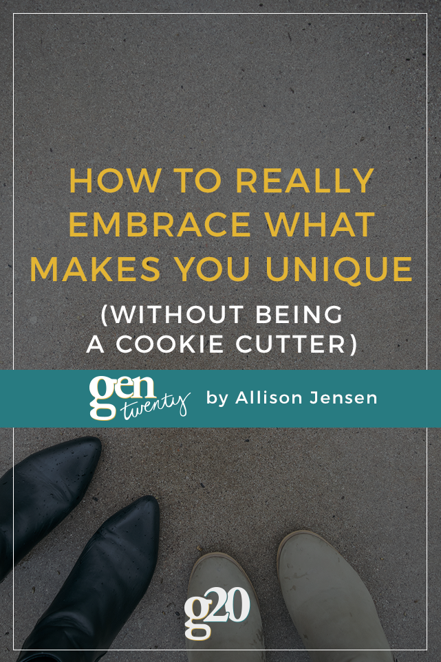How to Embrace What Makes You, You