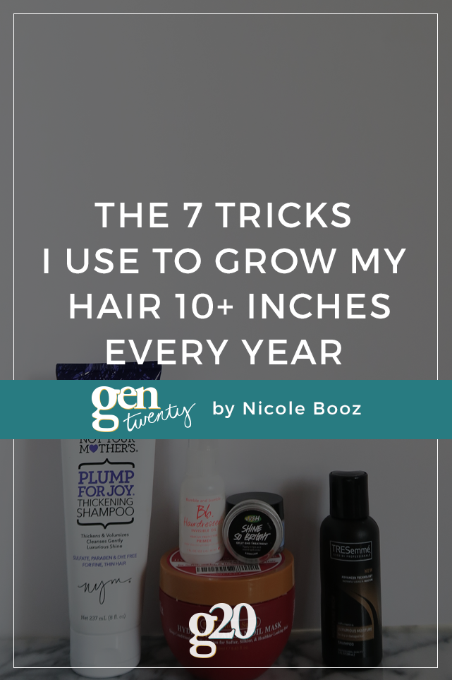 The 7 Tricks I Use To Grow My Hair 10+ Inches Every Year