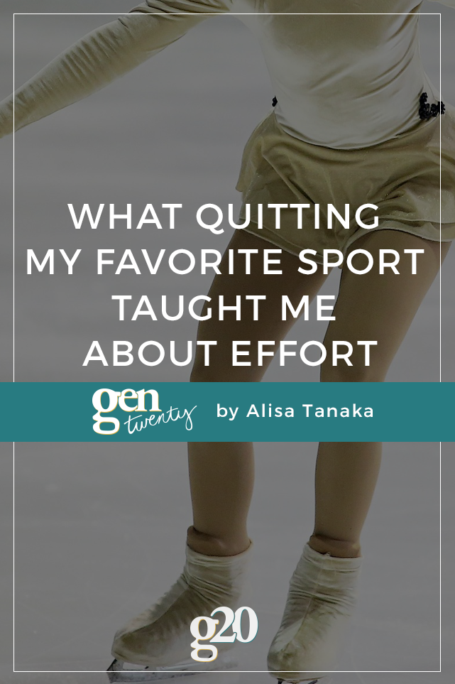 What Quitting My Favorite Sport Taught Me About Effort